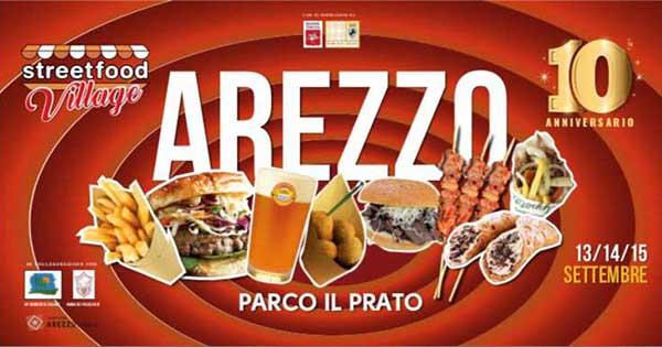 Street Food Villagge 2019 ad Arezzo - Parco il Prato - Settembre 2019