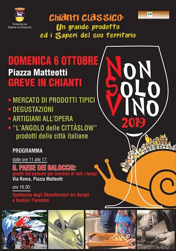 Non Solo Vino a Greve in Chianti 2019