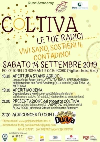Coltiva Burchio 2019