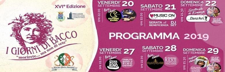 Eventi Castiglion Fiorentino settembre 2019