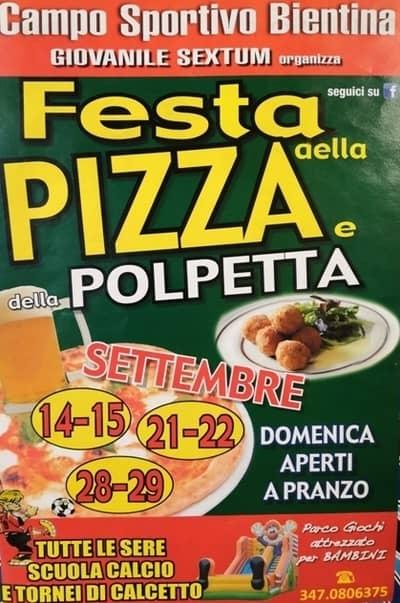 Festa Pizza Polpetta Bientina