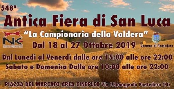 Fiera di San Luca Pontedera 2019