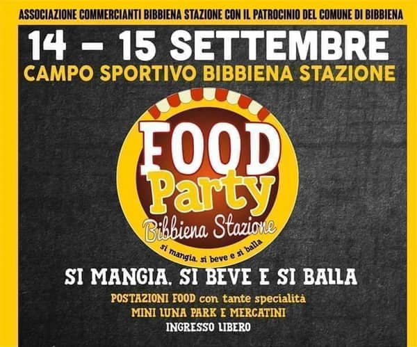 Food Party Bibbiena 2019