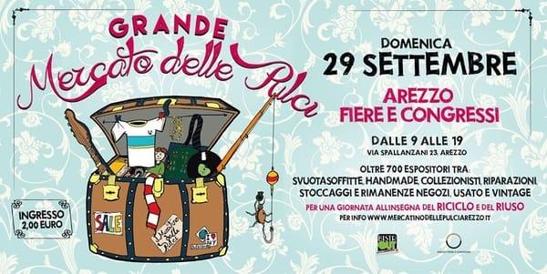 Mercato delle Pulci Arezzo Settembre 2019