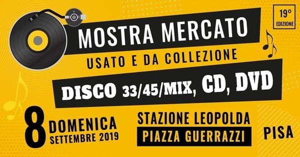 Mostra Disco Pisa 2019