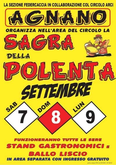 Sagra Polenta Agnano 2019