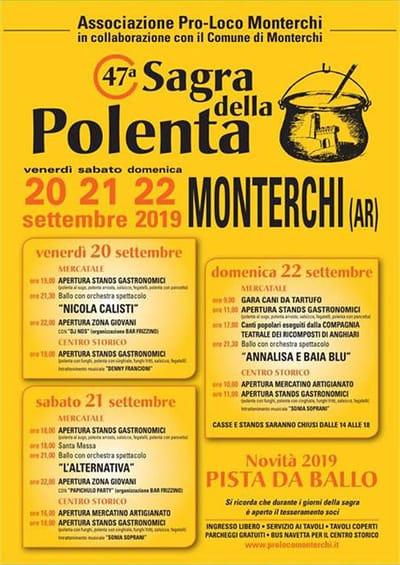 Sagra Polenta Monterchi 2019