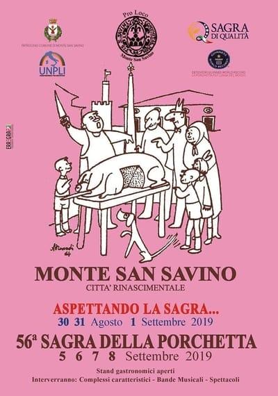 Sagra Porchetta Monte San Savino 2019