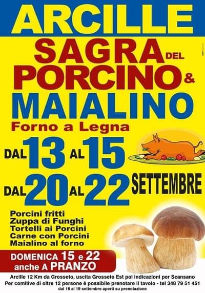 Sagra Porcino Maialino Arcille 2019