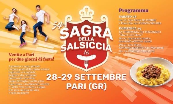 Sagra Salsiccia Pari 2019