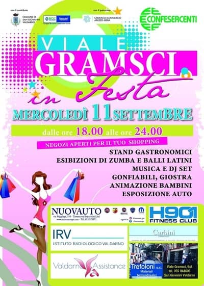 Viale Gramsci in Festa 2019