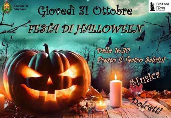 Festa di Halloween a Pitigliano - 31 Ottobre 2019