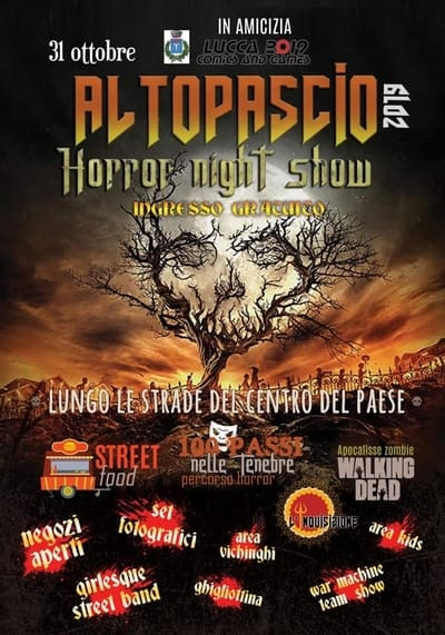 Altopascio Halloween Horror 2019