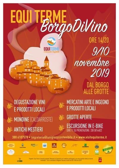 Borgo Divino Equi Terme 2019
