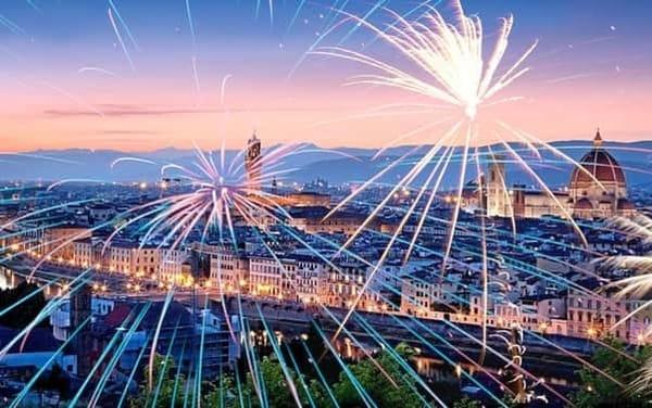 Capodanno Firenze 2020 Piazzale Michelangelo