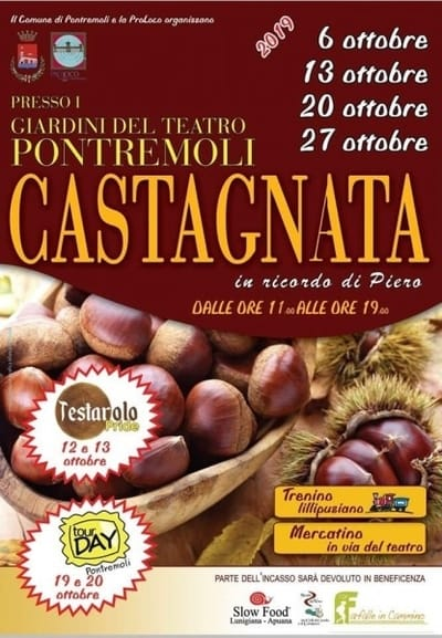 Castagnata a Pontremoli 2019
