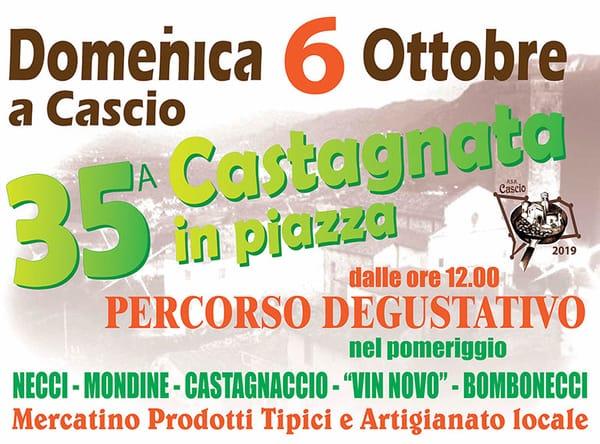 Castagnata Cascio 2019