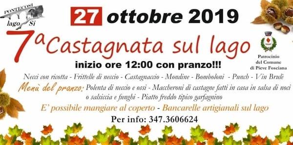 Castagnata Lago di Pontecosi 2019