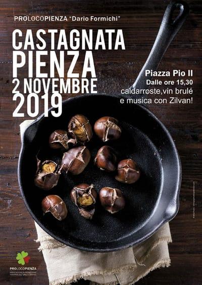 Castagnata Pienza 2019
