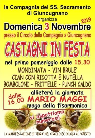Castagni in Festa 2019 Sillano Giuncugnano