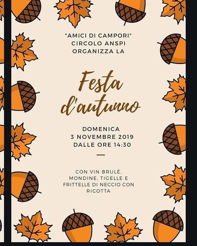 Festa Autunno Campori 2019