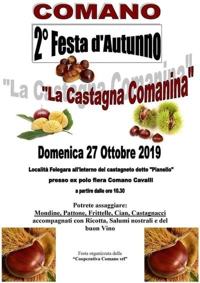 Festa Autunno Comano 2019