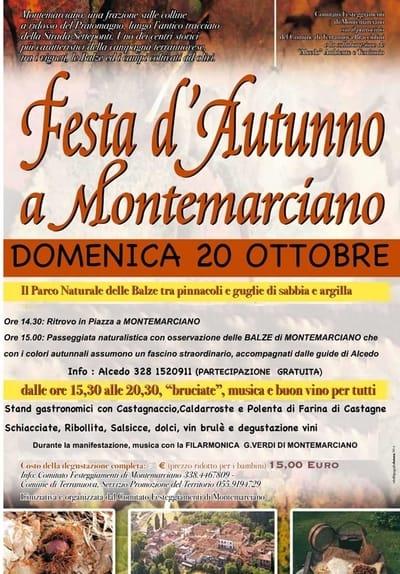 Festa Autunno Montemarciano 2019