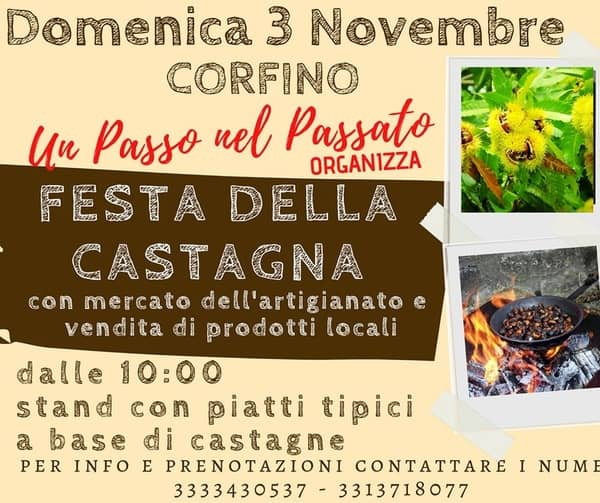 Festa Castagna Corfino 2019