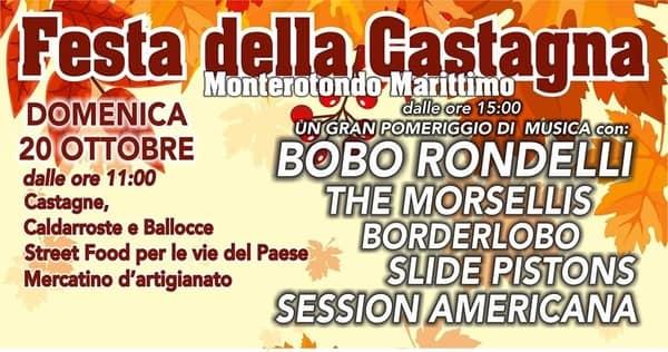 Festa Castagna Monterotondo 2019