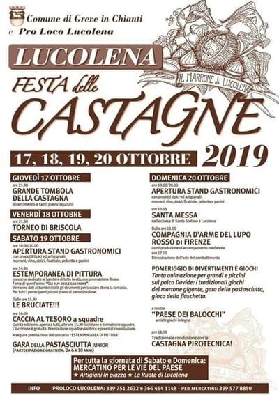 Festa Castagne Lucolena 2019