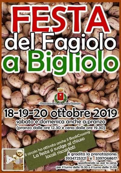 Festa Fagiolo Bigliolo 2019