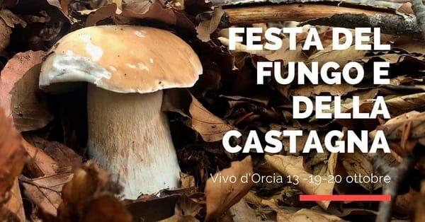 Festa Fungo Castagna Vivo d Orcia