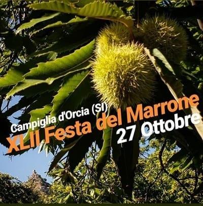 Festa Marrone Campiglia d Orcia 2019