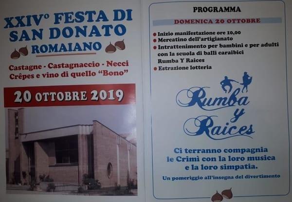 Festa San Donato Romaiano 2019