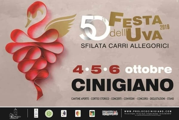 Festa Uva Cinigiano 2019
