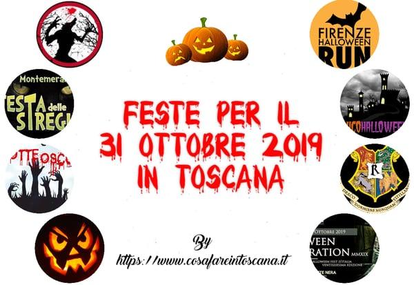 Feste 31 ottobre Toscana