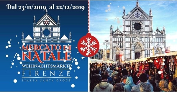 Mercato Natale Firenze Santa Croce 2019