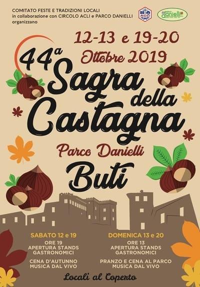 Sagra Castagna Buti 2019