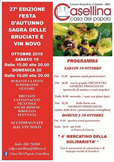 Sagra Castagne Casellina 2019