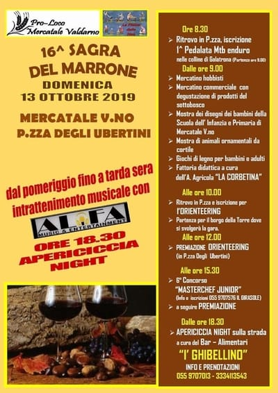 Sagra Marrone Mercatale 2019