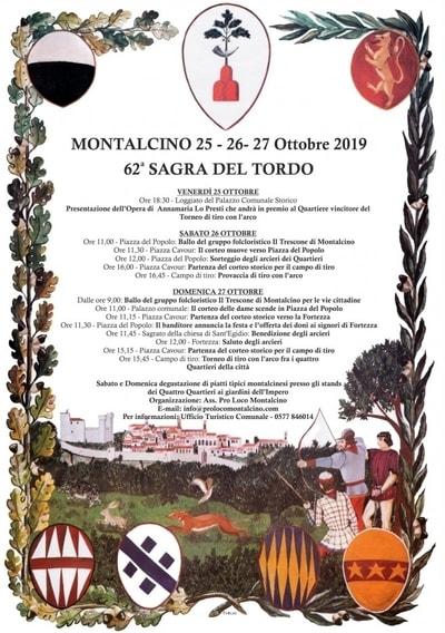Sagra Tordo Montalcino 2019