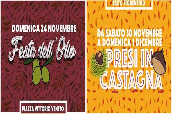 Facebook Festa dell'Olio e Presi in Castagna 2019 a Sesto Fiorentino