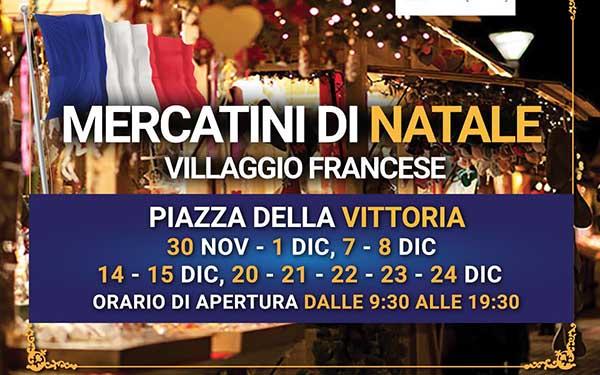 Mercatini di Natale ad Empoli 2019 - Villaggio Francese