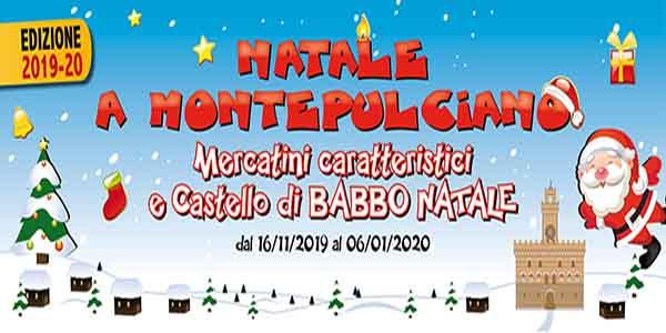 Natale a Montepulciano 2019 - 2020