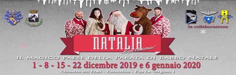 Natalia 2019 Fucecchio - La Grande Festa del Natale 2019 a Fucecchio