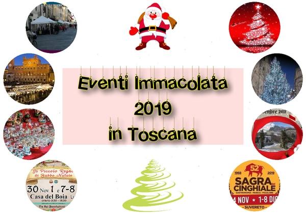 Eventi Immacolata 2019 Toscana