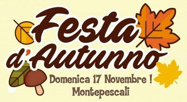 Festa Autunno Montepescali 2019