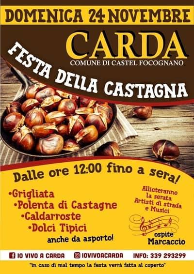 Festa Castagna Carda 2019