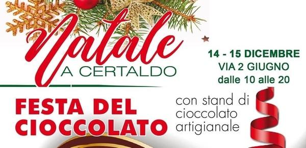 Festa cioccolato Certaldo dicembre