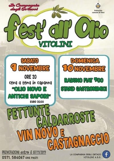 Festa Olio Vitolini 2019